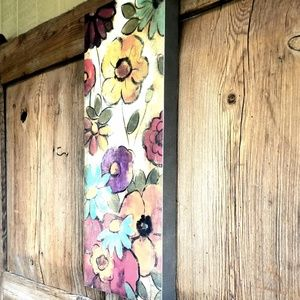 Other - Large Canvas Floral Wall Art